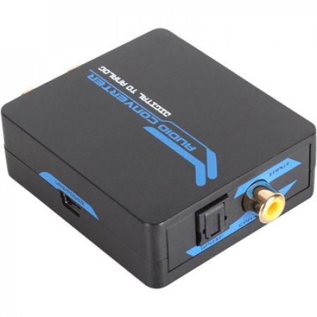 디지털 아날로그 오디오 컨버터Coaxial(동축) or SPDIF(광) to RCA + Stereo
