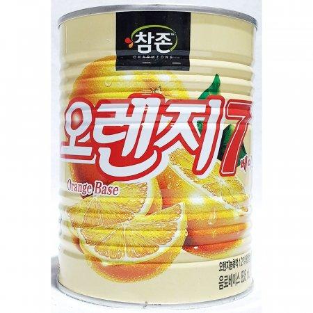 오렌지7 베이스 참존 835ml x12개 과일 음료 베이스