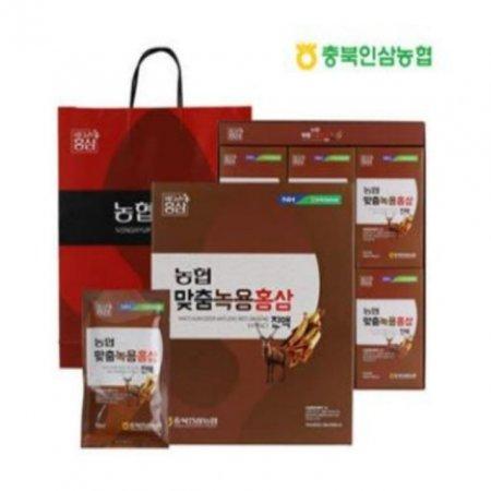 충북인삼농협 녹용홍삼 30포 6년근 진액 액기스