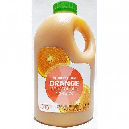 오렌지 농축액 스위트컵 1.8kg 과일 음료 베이스 과즙