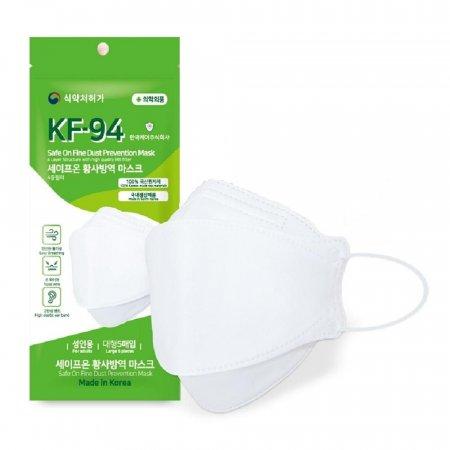 국산 세이프온 KF94 마스크 5매