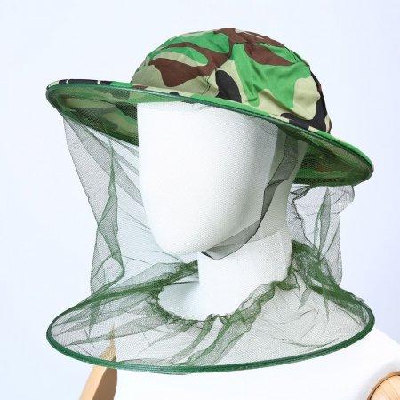 얼굴보호 방충모자 양봉모자