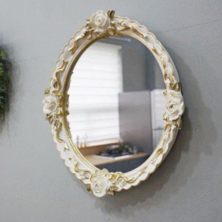 인테리어 벽장식 로즈 벽거울