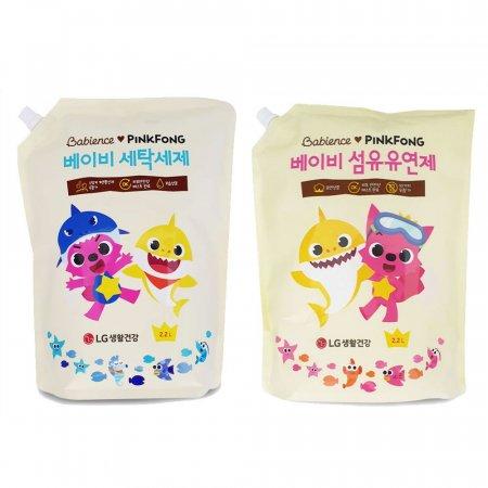 베비언스 핑크퐁 세탁세제/ 베이비 섬유유연제/ 리필