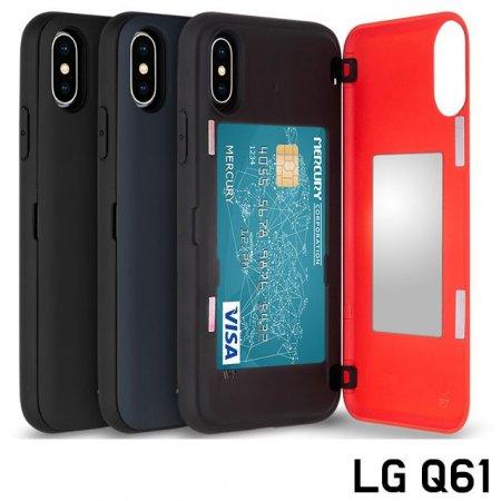 LG Q61 Q630 카드 마그네틱 범퍼 케이스