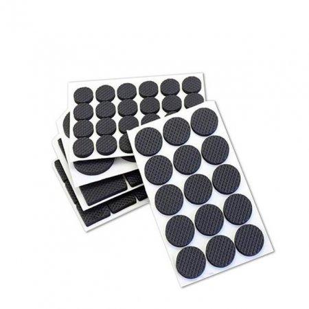 긁힘 소음방지 의자다리커버 논슬립 다용도 블랙 패드