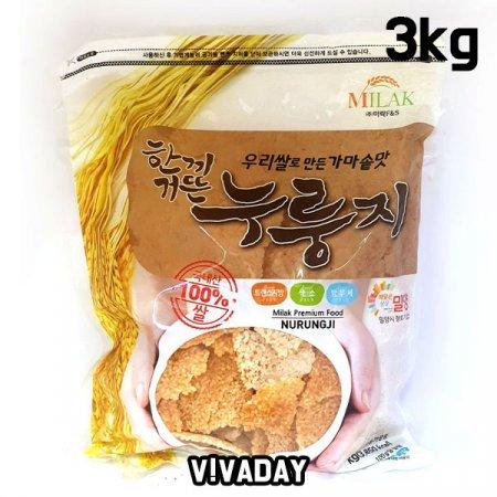 MY 한끼거뜬 우리쌀 누룽지 3kg
