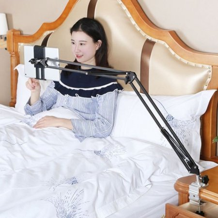 편리한 침대설치용 아이패드 태블릿 거치대 (50cm)