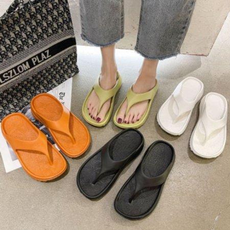 여자 외출 여행 캠핑용 여름 패션 플랍 쪼리 슬리퍼