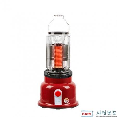 난방비절감 고효율 원적외선 세라믹히터 전기난로 6평