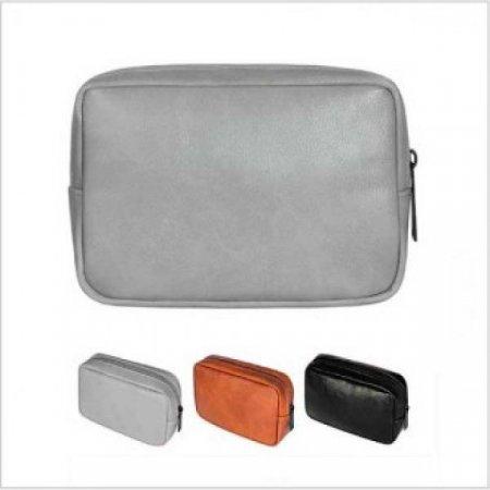 가죽 심플 디지털 보조 파우치 가방
