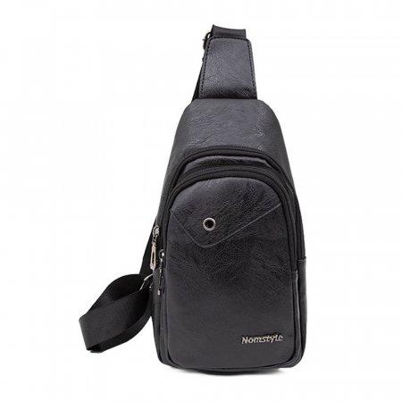 블랙- 캐쥬얼 슬링백 실용적인 보조 나들이 가방 20대