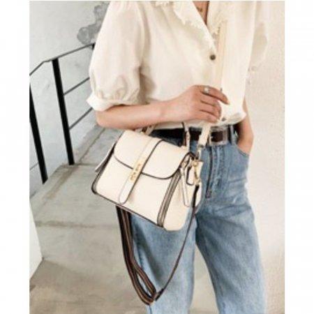 여성 인기 두가지 어깨끈 크로스백 정장 핸드백